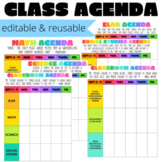 DIGITAL Agenda   Editable & Reusable   Google Slides or PDF