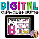 DIGITAL Alphabet Game - Distance Learning