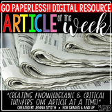DIGITAL Article of the Week - for Distance Learning