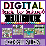 DIGITAL BACK TO SCHOOL BUNDLE IN GOOGLE SLIDES™