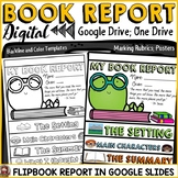 DIGITAL BOOK REPORT FLIPBOOK: GOOGLE DRIVE: GOOGLE SLIDES: GOOGLE CLASSROOM