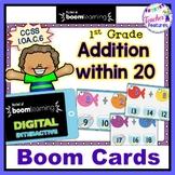 BOOM CARDS MATH | Add Within 20 | DIGITAL TASK CARDS