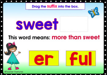 BOOM CARDS ELA   Prefixes and Suffixes   Word Meanings   2nd Grade   3rd Grade