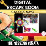 DIGITAL ESCAPE ROOM: Cinco de Mayo, Mexican Culture