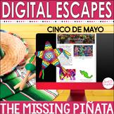 CINCO DE MAYO DIGITAL ESCAPE ROOM   Mexican Culture   Distance Learning