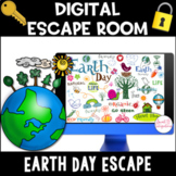 DIGITAL ESCAPE ROOM | Earth Day Theme | Distance Learning
