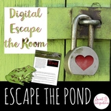DIGITAL ESCAPE ROOM: Escape the Pond Frog Life Cycle