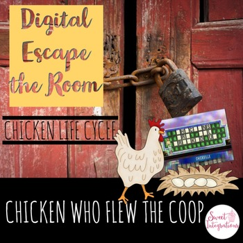 DIGITAL ESCAPE ROOM: The Chicken Who Flew the Coop Chicken Life Cycle