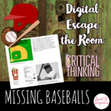 DIGITAL ESCAPE ROOM: The Missing Baseballs - The History o
