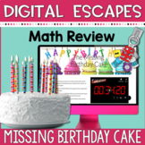 DIGITAL ESCAPE ROOM: The Missing Birthday Cake - Math and