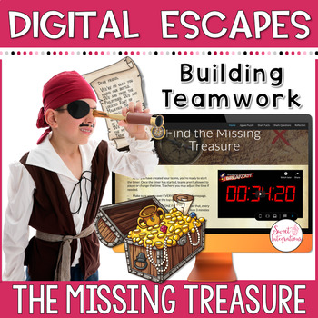 DIGITAL ESCAPE ROOM: The Missing Treasure, Math and Science