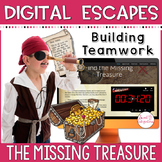 DIGITAL ESCAPE ROOM | The Missing Treasure, Math and Science | Distance Learning