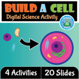 DIGITAL BUILD AN ANIMAL CELL | Lesson Plan Organelles | On