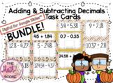DIGITAL BUNDLE 4th Grade Adding & Subtracting to Hundredth