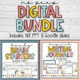 DIGITAL BUNDLE Brain Starters and Digital Writing Journal