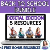 DIGITAL Back to School Bundle for Middle School