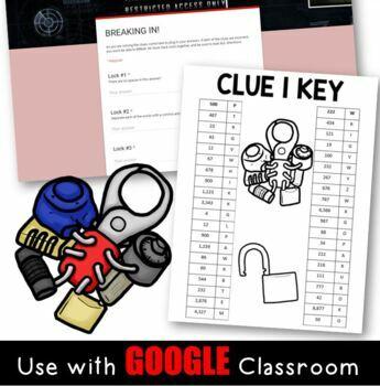 DIGITAL Back to School Classroom Escape Room: Build Teamwork in Grades 3/4