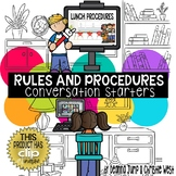 DIGITAL Back to School Classroom Procedures for Virtual an