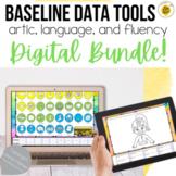 DIGITAL Baseline Data for Speech Therapy BUNDLE