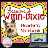 Because of Winn-Dixie - 4rd-8th grade - PAPERLESS