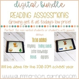 DIGITAL Reading Assessment BUNDLE