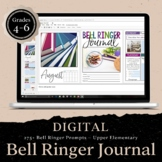 DIGITAL Bell Ringer Journal for Entire School Year: Upper Elementary Grades 4-6