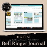 DIGITAL Bell Ringer Journal for the Entire School Year: 27