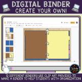 DIGITAL Binder: Create Your Own!