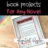 DIGITAL Book Projects for Any Novel | Distance Learning