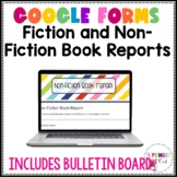 DIGITAL Book Reports: GOOGLE forms