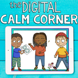 DIGITAL CALM CORNER: Coping Skills & Mindfulness Kit for S