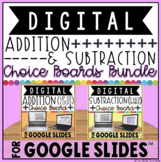 DIGITAL CHOICE BOARDS FOR ADDITION & SUBTRACTION IN GOOGLE