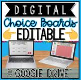 DIGITAL EDITABLE CHOICE BOARDS FOR GOOGLE DRIVE™  | DISTAN
