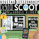 DIGITAL CITIZENSHIP DIGITAL SCOOT FOR GOOGLE SLIDES