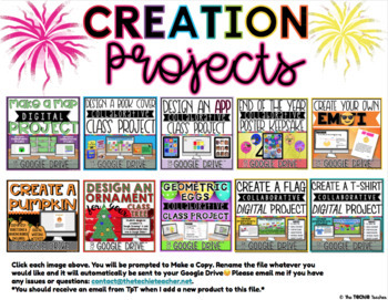 DIGITAL CREATION PROJECTS FOR GOOGLE DRIVE™
