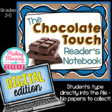 Chocolate Touch Novel Unit - 3rd to 5th grade - PAPERLESS