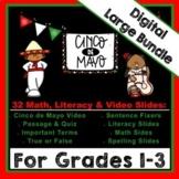 "DIGITAL: Cinco de Mayo ""LARGE"" Bundle for Grades 1-3"