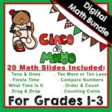"""DIGITAL: Cinco de Mayo """"MATH"""" Bundle Grades 1-3"""