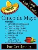 """DIGITAL: Cinco de Mayo """"SMALL"""" Bundle for Grades 1-3"""