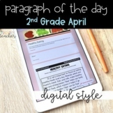 DIGITAL Text Evidence Passages for 2nd Grade April   Dista