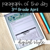 DIGITAL Close Reading Passages for 3rd Grade April | Dista