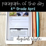 DIGITAL Text Evidence Passages for 4th Grade April   Dista