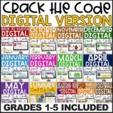 DIGITAL Crack the Codes (GROWING BUNDLE) for Grades 1-5