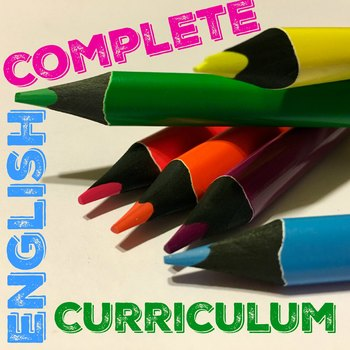 English Curriculum 7, 8, or 9 Version #2