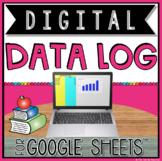 DIGITAL DATA GRAPH IN GOOGLE SHEETS™