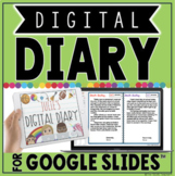 DIGITAL DIARY IN GOOGLE SLIDES™