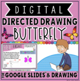 DIGITAL DIRECTED DRAWING IN GOOGLE DRIVE™: BUTTERFLY