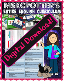 DIGITAL DOWNLOAD: Entire English Curriculum Common Core Aligned