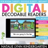 DIGITAL Decodable Readers | Guided Reading Boom Cards™ Google™ Seesaw™