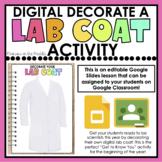 DIGITAL Decorate a Lab Coat